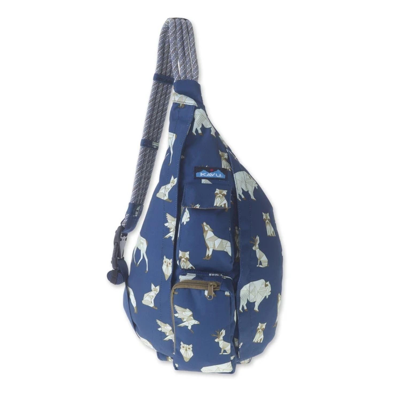 Kavu Rope Sling Bag Navy Range In