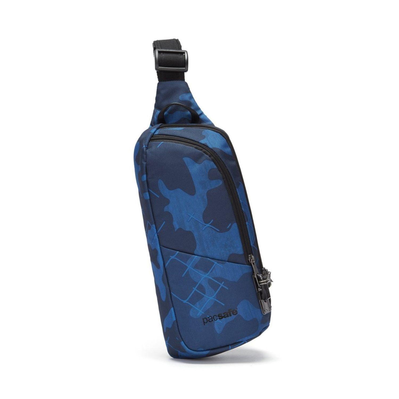 pacsafe Vibe 150 Crossbody Pack Blue Camo