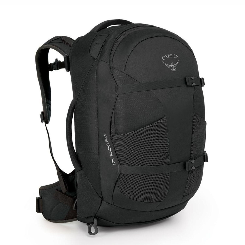 Volcanic Grey Osprey Farpoint 40 Men/'s Travel Backpack Small//Medium